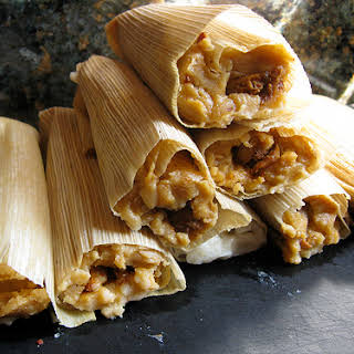 Corn & Cheese Tamale Filling.