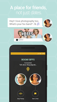Bumble — Meet, Date & Network - screenshot