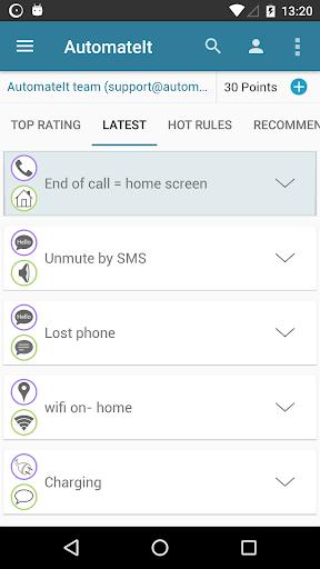 AutomateIt screenshot 3