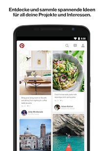 Pinterest – Miniaturansicht des Screenshots