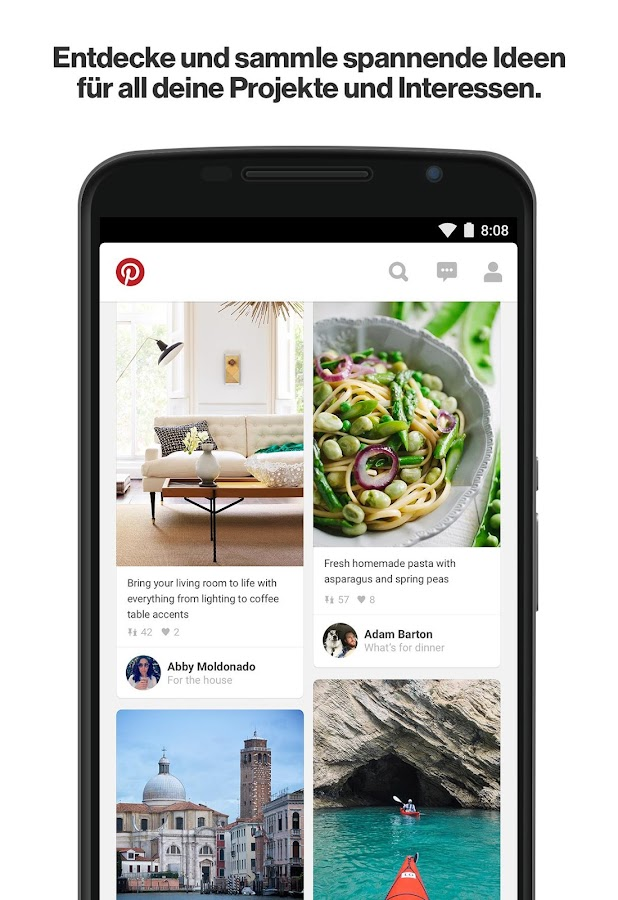 Pinterest – Screenshot