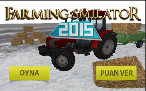 Farming Tractor Smilator 2015