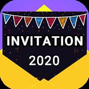 Invitation maker 2020 Birthday && Wedding card Free