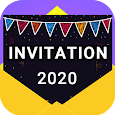 Invitation maker 2020 Birthday & Wedding card Free apk