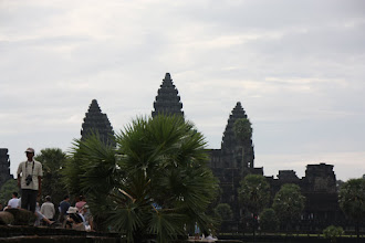Photo: Year 2 Day 44 - Silhouette of Angkor Wat  (Cambodia)
