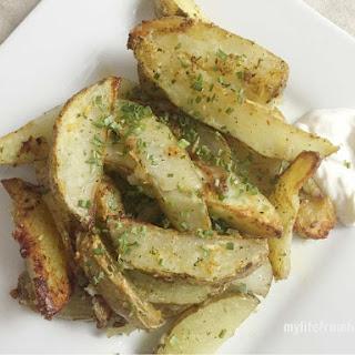 Parmesan Ranch Potato Wedges