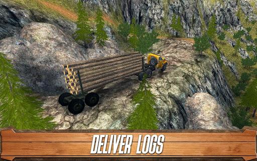 Sawmill Driver: Logging Truck & Forest Harvester  screenshots 3