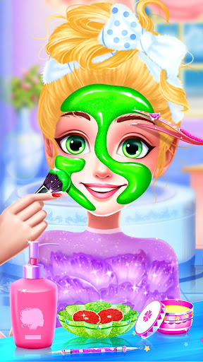 👸Rainbow Princess & Unicorn Makeup - Fashion Trip apkmartins screenshots 1