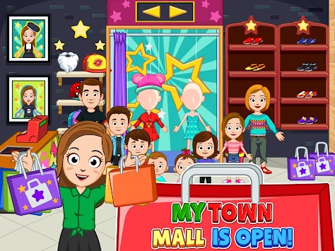 My Town : Shopping Mall apk screenshot