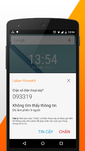 Chan cuoc goi, tin nhan rac screenshot 3