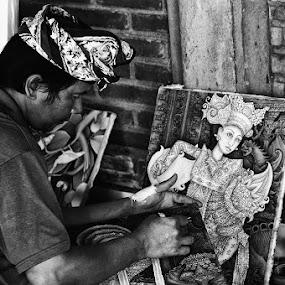 bali painters by Benny De - People Street & Candids