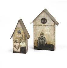 Tim Holtz Sizzix Bigz L Die - Tiny Houses