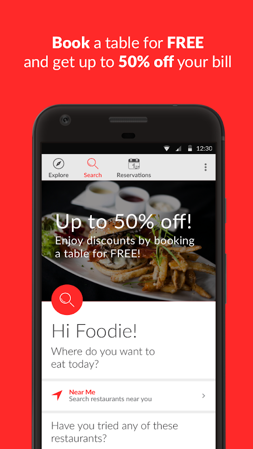 BigDish - Restaurant Discounts- screenshot