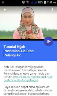 How to install Dian Pelangi Hijab Tutorial 5.2 mod apk for android