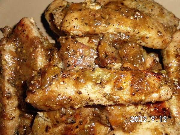 Boneless Pork Glazed W/tomatillo Jelly Glaze