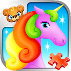 123 Kids Fun PUZZLE RED Free icon