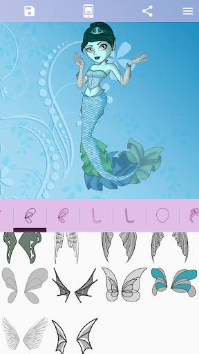 Avatar Maker: Monster Girls screenshot 4