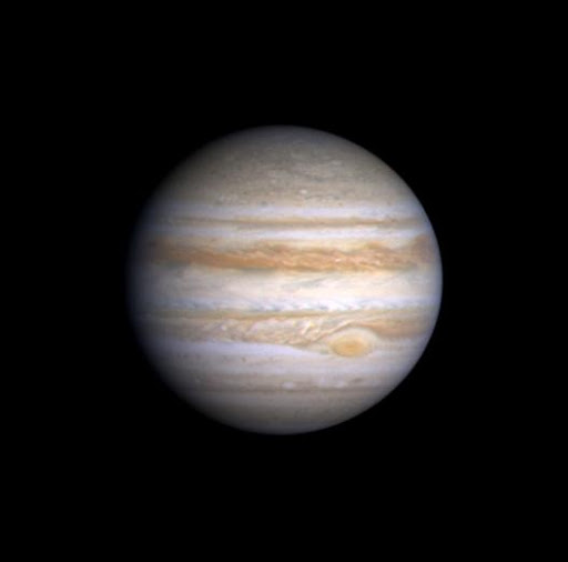 Jupiter Great Red Spot in Cassini Image