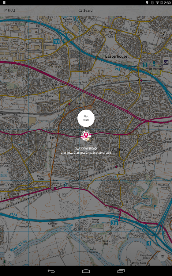 OS Maps- screenshot