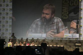 Photo: Friday - The Walking Dead panel; creator Robert Kirkman