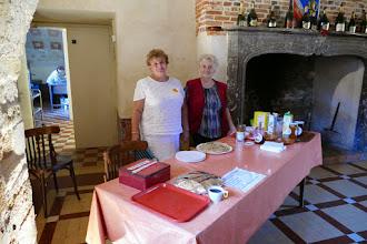 Photo: Crêpes et cidre dans la Salle GABRIEL