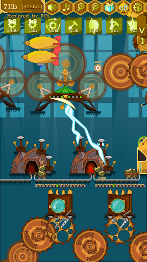 Steampunk Idle Spinner: Coin Factory Machines screenshots 5