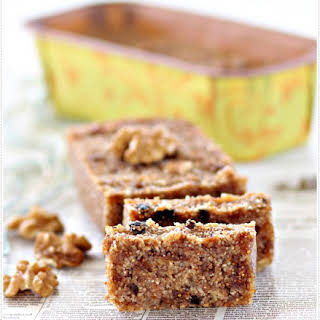 Eggless Fig and Nut Cake.
