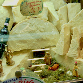 Cheeses of Nazareth by Timothy Carney - Food & Drink Meats & Cheeses ( parmeggiana, italy, parmesan, cheese )
