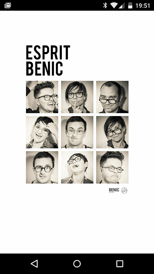 Benic Opticiens- screenshot