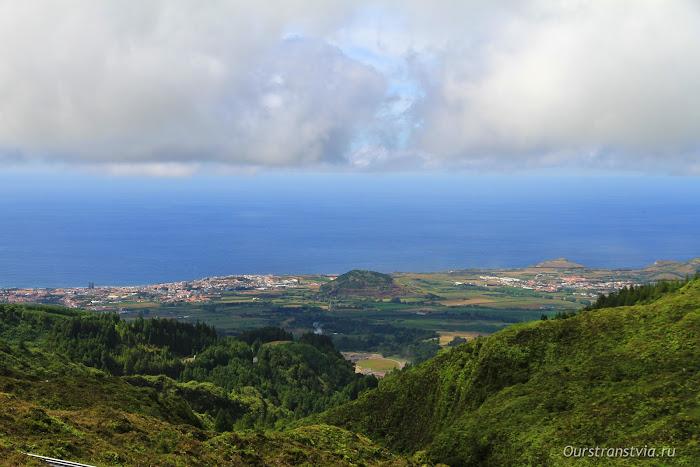 Панорама острова Сан Мигель