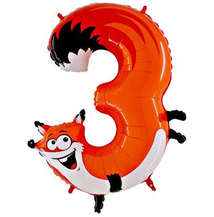 Animaloons sifferballong - 3