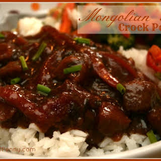 Crock Pot Mongolian Beef.