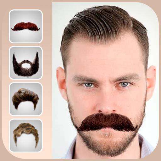 Men beard photo editor Mustache