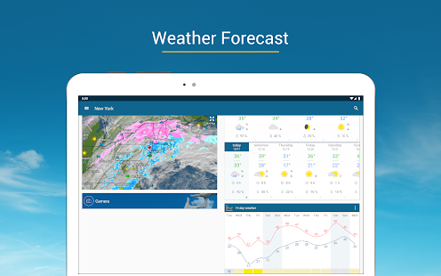 Weather & Radar USA - ad free Screenshot