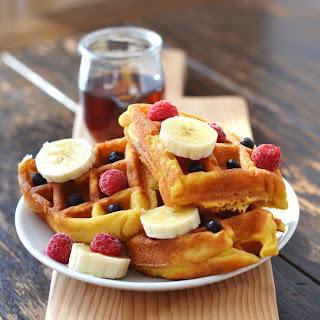 Crispy Grain-Free Waffles