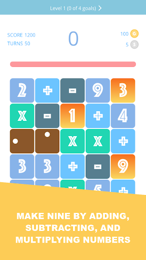 Make9 - Number Puzzle Game