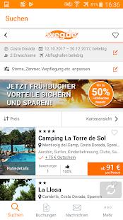 weg.de – günstige Reisen & Hotels - náhled