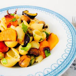 Eat the Rainbow Roast Vegetable Pasta Recipe