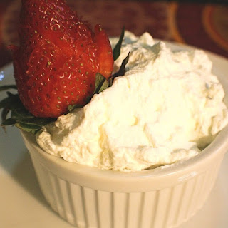 Strawberries with Homemade Whipped Cream