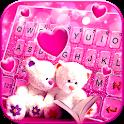 Lovely Teddy Keyboard Theme icon