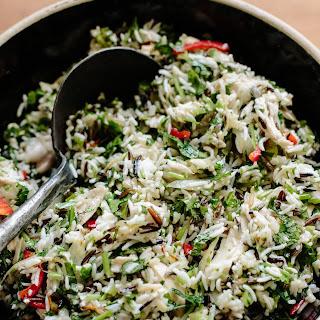 Roast Chicken and 3-Rice Salad Recipe