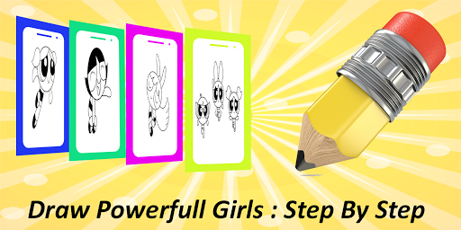 How To Draw - Power Girls