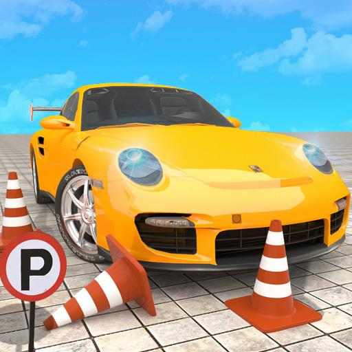 Hard Car Parking Challenge: School Driving Test Android APK Download Free By Archbox Games