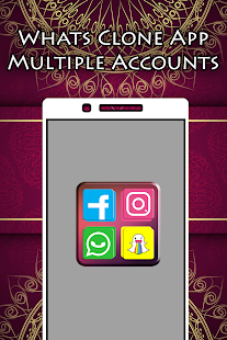 Whats Clone App - Multiple Accounts - náhled