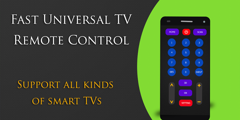Fast Universal TV Remote Pro - screenshot