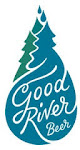 Logo for Good River Beer