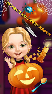 Sweet Baby Girl Halloween Fun 5