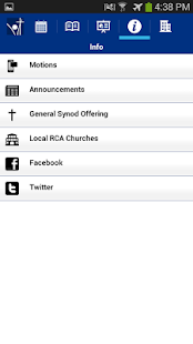 RCA Synod Events- screenshot thumbnail