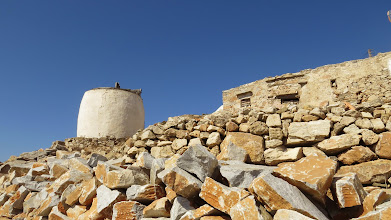 Photo: Remains of this town's windmill