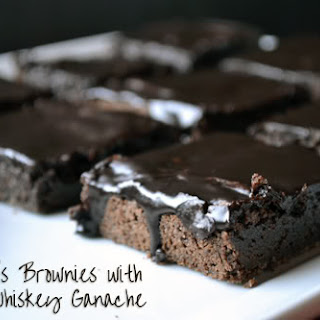 Bailey'S Brownies with Irish Whiskey Ganache Recipe